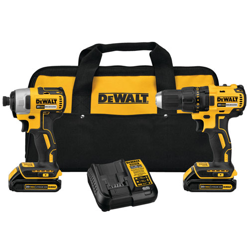 DeWalt 20V MAX Compact Brushless Drill Drive Impact Kit