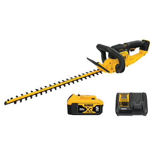 DeWalt 20V MAX Lithium Ion Hedge Trimmer 5 0AH